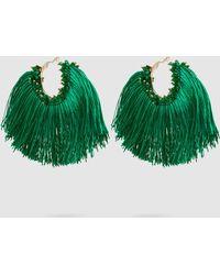 Rosantica - Coraggio Beaded Tasselled Earrings - Lyst
