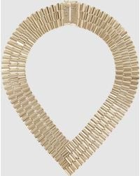 Rosantica - Casta Chain Link Gold-tone Necklace - Lyst