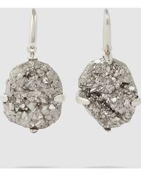 Christopher Kane - Silver Dna Earrings - Lyst