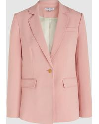 Elizabeth and James - Carlson Single-breasted Crepe Blazer - Lyst