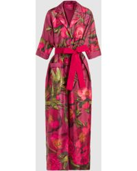 F.R.S For Restless Sleepers - Eurinome Floral Robe - Lyst