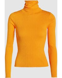 cf2931819d5e84 Simon Miller Rico Ribbed-knit Turtleneck Sweater in Yellow - Lyst
