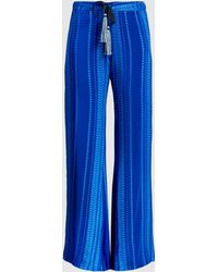 Zeus+Dione - Alcestes Silk Wide-leg Trousers - Lyst