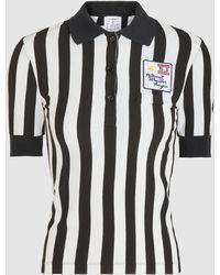 Stella Jean - Striped T-shirt - Lyst