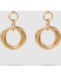 Rosantica - Hoop Pendant Earrings - Lyst
