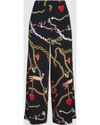 Vivetta - Printed Cropped Trousers - Lyst