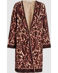 Ganni - Colby Sequin-embellished Jacket - Lyst