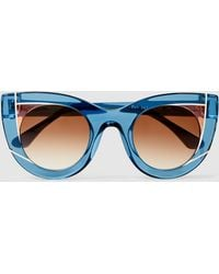 Thierry Lasry - Wavvvy Cat-eye Sunglasses - Lyst