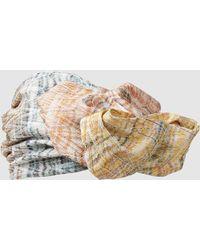 Missoni Zigzag Metallic Crochet Knit Turban