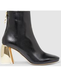 Ellery - Leather Ankle Boots - Lyst