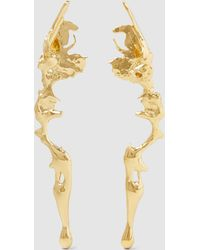 Annelise Michelson - Gold Plated Lava Earrings - Lyst