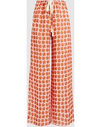 Regimented Rose Trousers By. Regimented Rose Pantalon Par. Bonnie Young Bonnie Jeunes SCB3DmZ