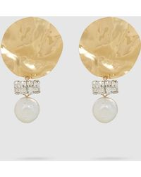 Rachel Comey - Ambient Shell Swarovski Crystal Earrings - Lyst