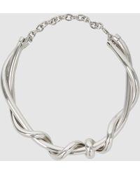 Oscar de la Renta - Modern Twist Necklace - Lyst