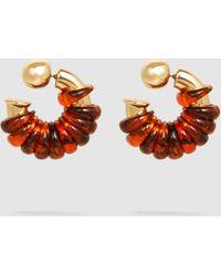 Ellery Gertrude Jumpring Earrings - Multicolour