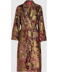 F.R.S For Restless Sleepers - Floral Devoré Robe - Lyst