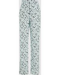Marni - Printed Cotton Trousers - Lyst