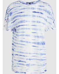 Proenza Schouler - Tie-dye Cotton T-shirt - Lyst
