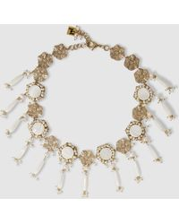 Rosantica - Corte Freshwater Pearl Gold-tone Necklace - Lyst