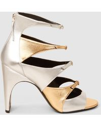 Pierre Hardy - Multiple Front Straps Sandals - Lyst f87b88368e6