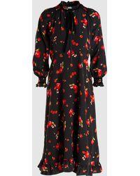 Vilshenko - Mona Midi Dress - Lyst