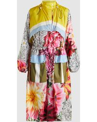 Mary Katrantzou - Printed Nylon Spec Coat - Lyst