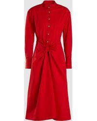 Proenza Schouler - Tied Shirt Dress - Lyst