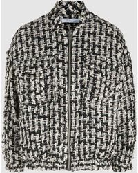 IRO - Switch Embellished Metallic Tweed Jacket - Lyst