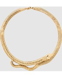 Aurelie Bidermann - Tao Gold-plated Necklace - Lyst
