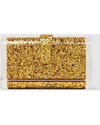 Edie Parker - Lara Solid Acrylic Box Clutch - Lyst
