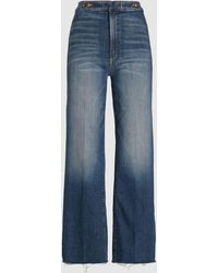 Mother The Loop De Loop Flared Jeans - Blue