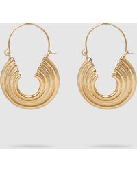 Rosantica - Passato Layered Gold-tone Hoop Earrings - Lyst