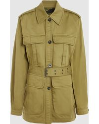 M.i.h Jeans - Lang Reversible Cotton Jacket - Lyst