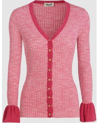 Enjoy Cheap Price Buy Cheap Very Cheap Cindylou Ribbed Cotton-Blend Cardigan Baum Und Pferdgarten Purchase Limited Edition Cheap Online Discount Codes Clearance Store dqLQlUy82k