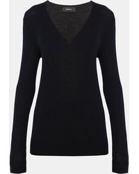 Theory - Cashmere V-neck Sweater - Lyst