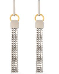 Alexander Wang - Gold And Silver-plated Earrings - Lyst
