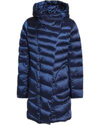 Diane von Furstenberg - Quilted Shell Hooded Coat - Lyst