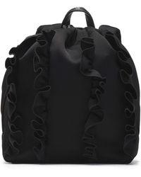 3.1 Phillip Lim - Go-go Ruffled Sateen Backpack - Lyst