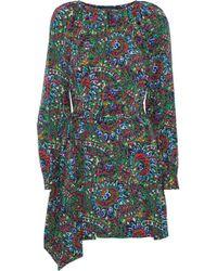 Vanessa Seward - Printed Faille Mini Dress - Lyst