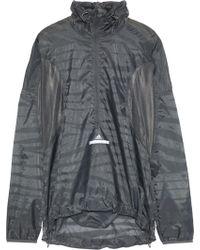 adidas By Stella McCartney - Mesh-paneled Printed Shell Jacket - Lyst