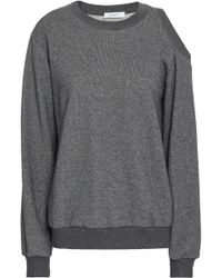 A.L.C. - Cutout French Cotton-terry Sweatshirt - Lyst