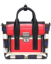 3.1 Phillip Lim - Pashli Mini Striped Leather Shoulder Bag - Lyst