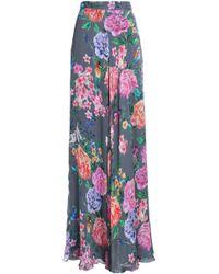 Matthew Williamson - Floral-print Silk Maxi Skirt - Lyst