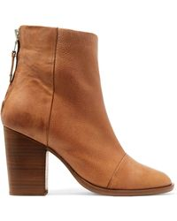 Rag & Bone - Ashby Leather Ankle Boots - Lyst