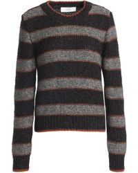 Vanessa Bruno Athé - Striped Knitted Jumper - Lyst