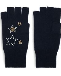Autumn Cashmere - Studded Cashmere Gloves - Lyst