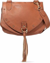See By Chloé - Collins Tasselled Leather Shoulder Bag - Lyst