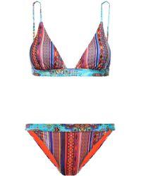 Matthew Williamson - Stretch-knit Bikini - Lyst