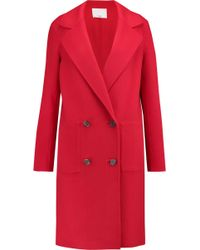 Tibi | Wool And Angora-blend Coat | Lyst