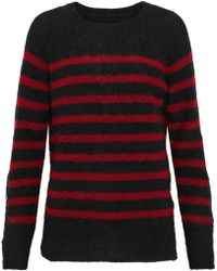 By Malene Birger - Striped Stretch-knit Jumper - Lyst
